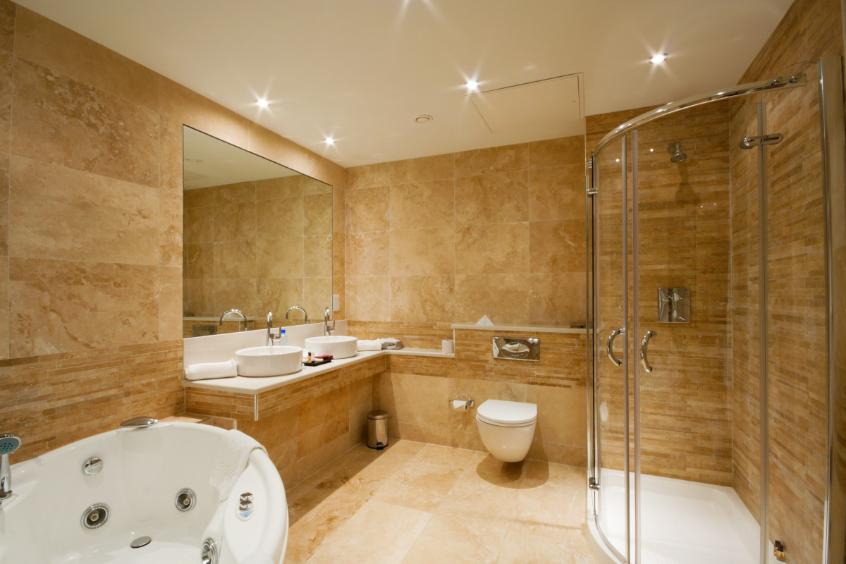 Rekonstrukce koupelen koupelny mares stavhned s r o for Bathroom contractors